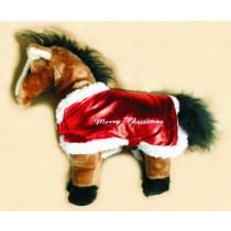 Pferdedecke -Merry Christmas-