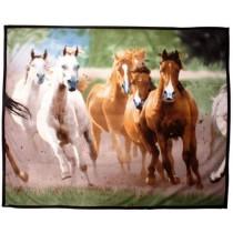 Tagesdecke aus Fleece -Herde-