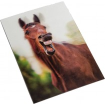 3D-Postkarte - Gähnen-