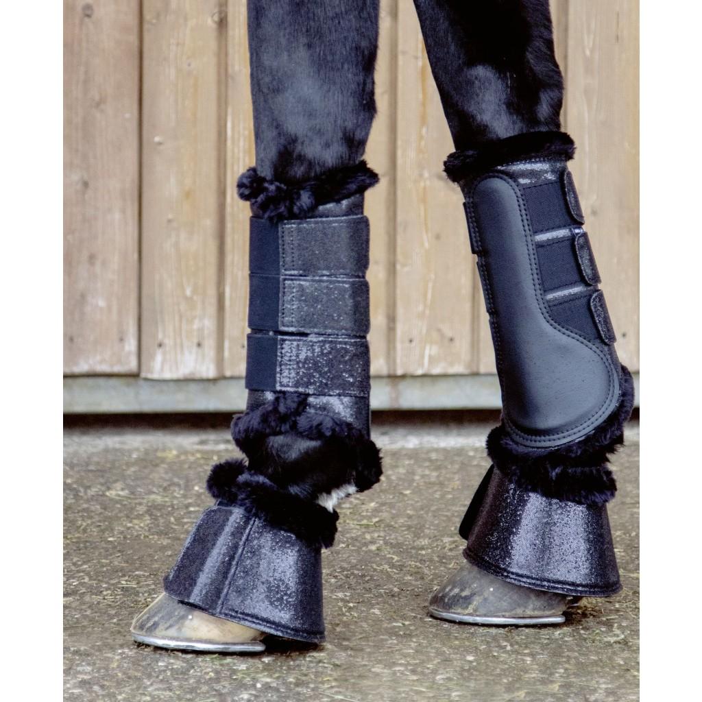 glitter boots häst