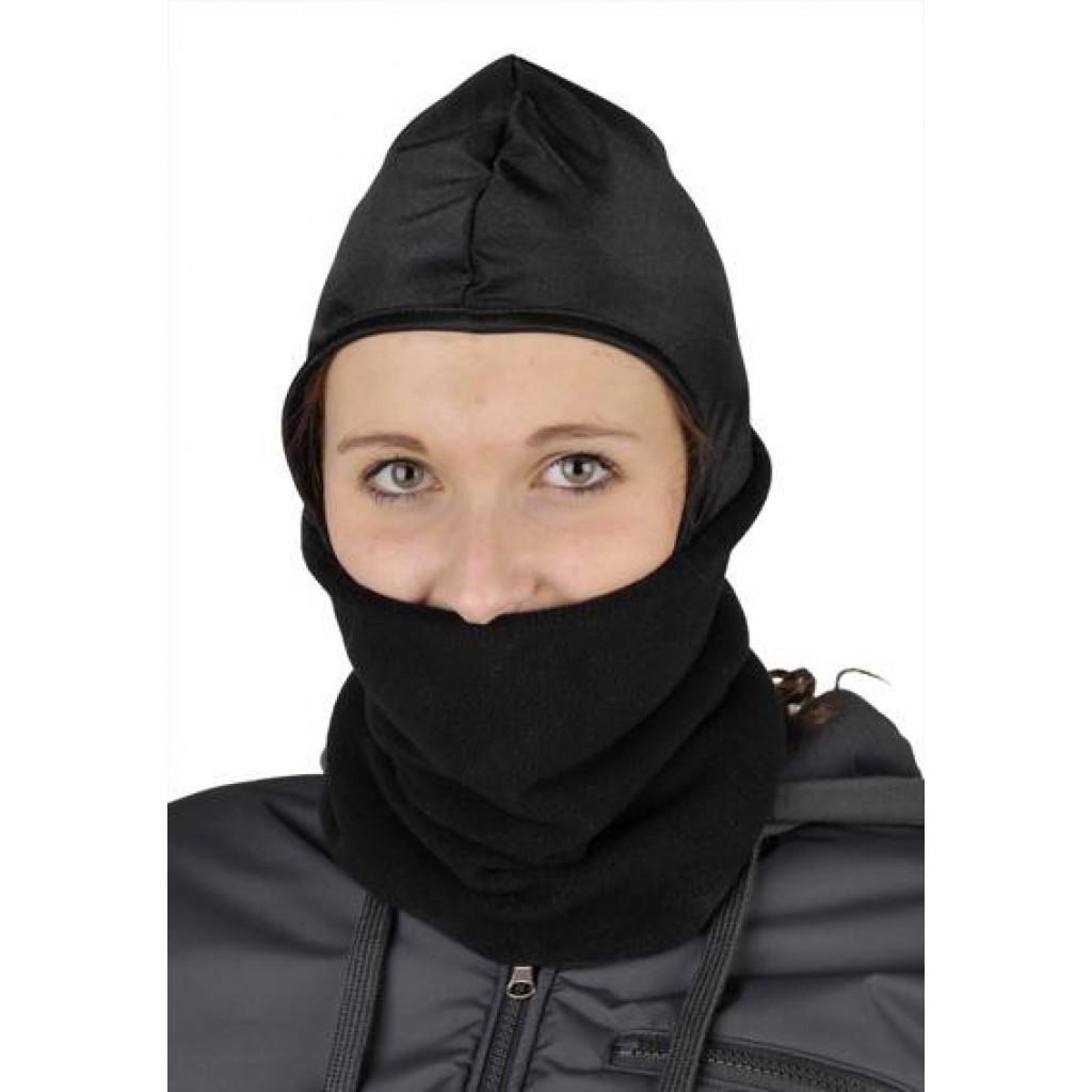 Kopf/Gesichtswärmer aus Fleece