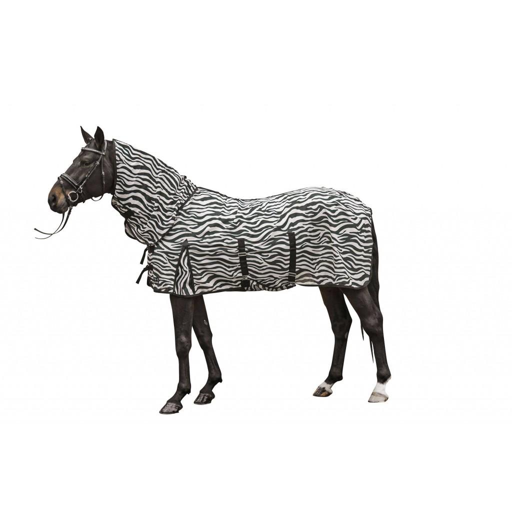 Fliegendecke mit Halsteil -Zebra- mit Bauchlatz