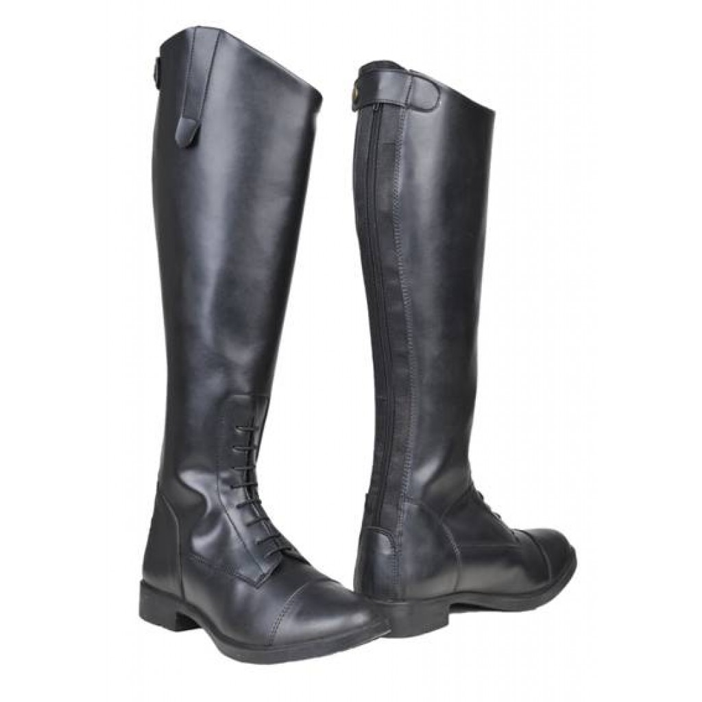 Reitstiefel -New Fashion-, Damen, kurz/weit