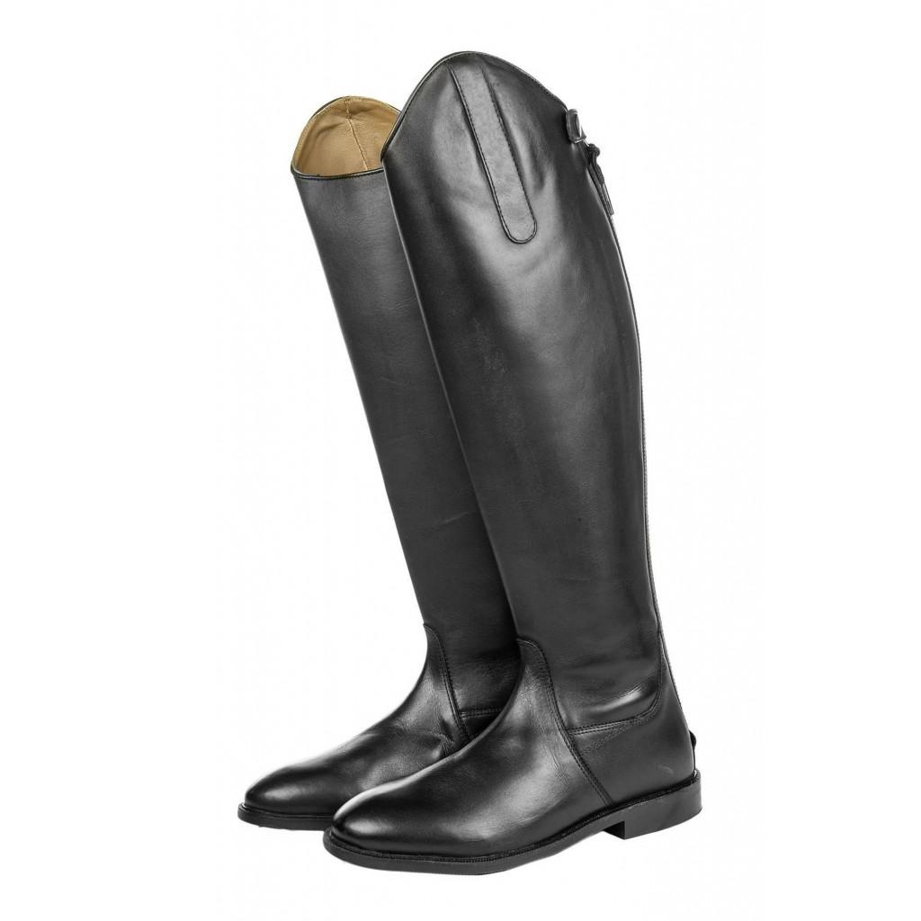 HKM Herren Reitstiefel Italy Soft Leder Kurz//Standardweite