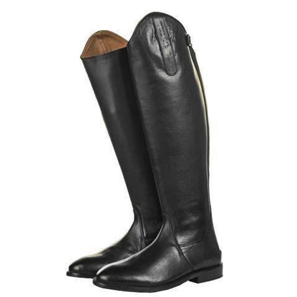 Reitstiefel -Italy-, Soft Leder, kurz/weit