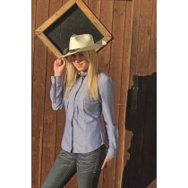 Westernbluse -Denim-