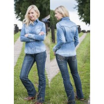 Jeans bootcut -studs-