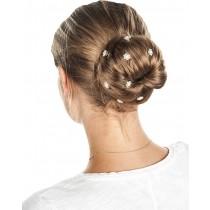 Haarschmuck -Curly Blume-