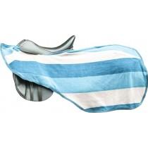 Nieren Abschwitzdecke -Colour stripes- mit Klett
