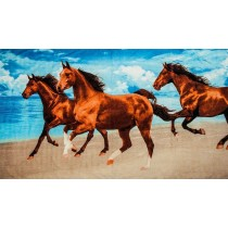 Strandtuch -3 Pferde-
